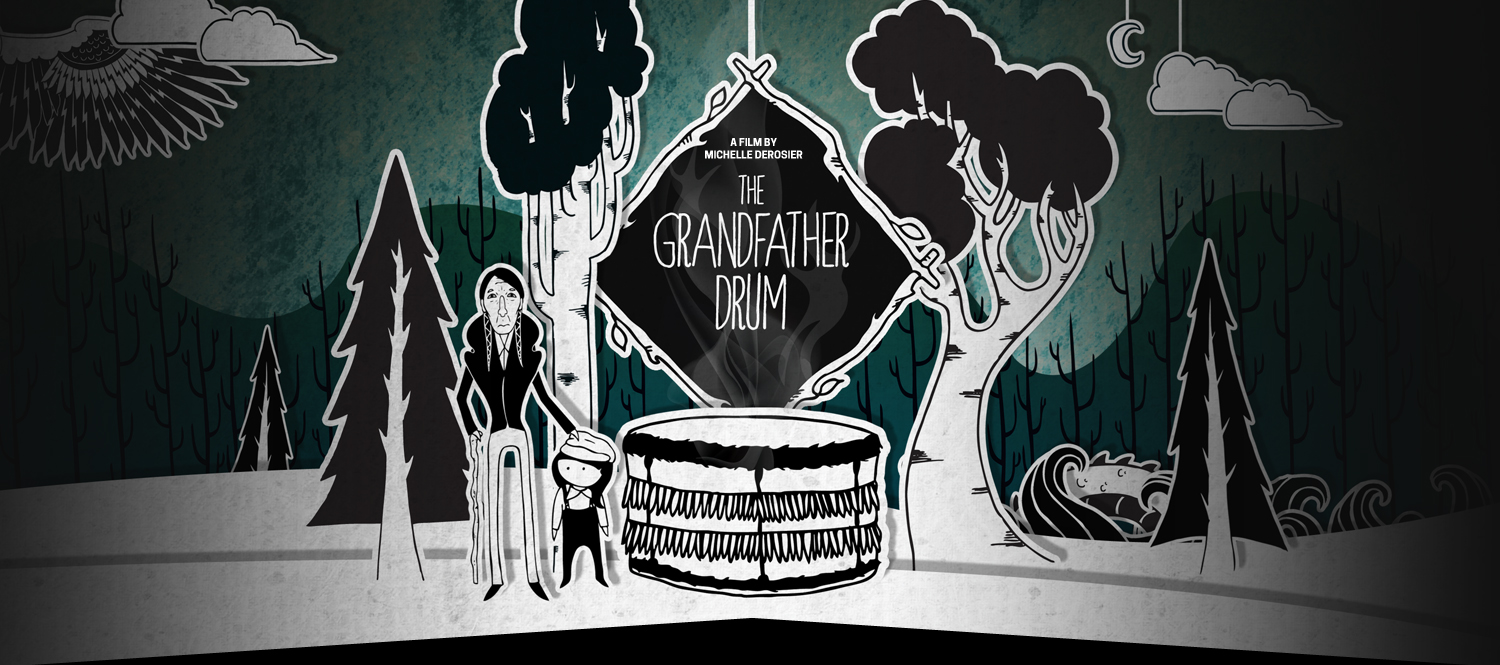 The Grandfather Drum - Website Header